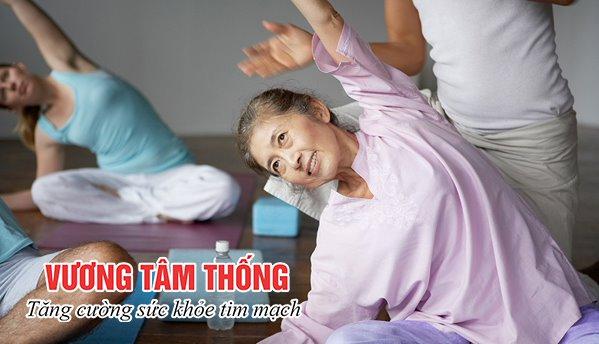Tập yoga rất tốt cho người bệnh mạch vành